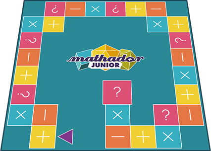 Plateau du jeu Mathador Junior